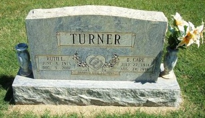 TURNER, RUTH L - Prowers County, Colorado | RUTH L TURNER - Colorado Gravestone Photos
