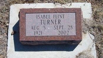 TURNER, ISABEL - Prowers County, Colorado   ISABEL TURNER - Colorado Gravestone Photos