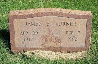 TURNER, JAMES E - Prowers County, Colorado | JAMES E TURNER - Colorado Gravestone Photos