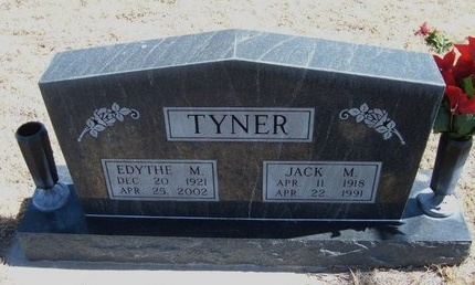 TYNER, EDYTHE M - Prowers County, Colorado | EDYTHE M TYNER - Colorado Gravestone Photos