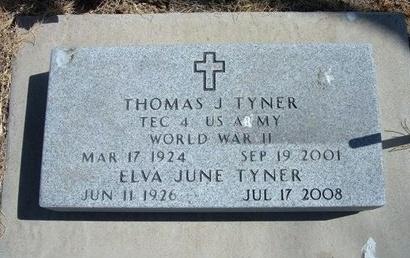 TYNER (VETERAN WWII), THOMAS J - Prowers County, Colorado | THOMAS J TYNER (VETERAN WWII) - Colorado Gravestone Photos