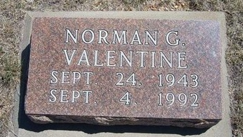 VALENTINE, NORMAN G - Prowers County, Colorado | NORMAN G VALENTINE - Colorado Gravestone Photos