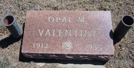 VALENTINE, OPAL M - Prowers County, Colorado | OPAL M VALENTINE - Colorado Gravestone Photos