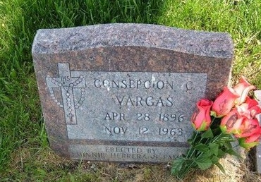 VARGAS, CONSEPCION C - Prowers County, Colorado   CONSEPCION C VARGAS - Colorado Gravestone Photos