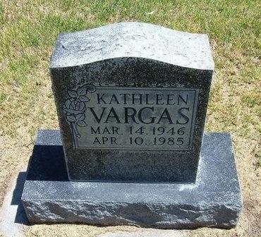 VARGAS, KATHLEEN - Prowers County, Colorado | KATHLEEN VARGAS - Colorado Gravestone Photos