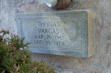 VARGAS, THOMAS - Prowers County, Colorado   THOMAS VARGAS - Colorado Gravestone Photos