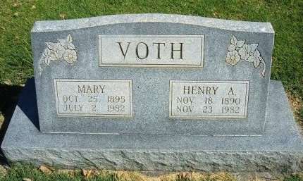 KLEIWER VOTH, MARY - Prowers County, Colorado | MARY KLEIWER VOTH - Colorado Gravestone Photos