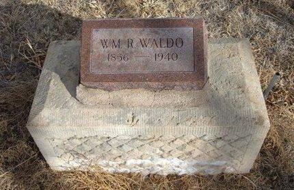 WALDO, WILLIAM R - Prowers County, Colorado | WILLIAM R WALDO - Colorado Gravestone Photos