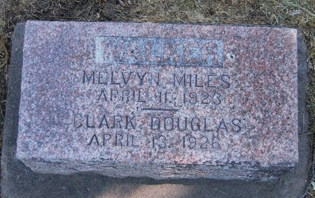 WALKER, MELVYN MILES - Prowers County, Colorado | MELVYN MILES WALKER - Colorado Gravestone Photos
