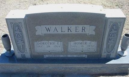 WALKER, HOMER C - Prowers County, Colorado | HOMER C WALKER - Colorado Gravestone Photos