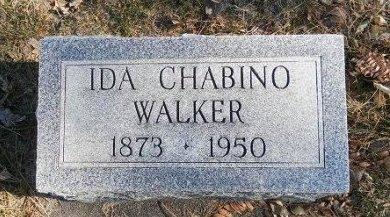 WALKER, IDA CHABINO - Prowers County, Colorado   IDA CHABINO WALKER - Colorado Gravestone Photos