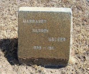 WARREN WALKER, MARGARET - Prowers County, Colorado | MARGARET WARREN WALKER - Colorado Gravestone Photos