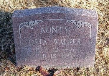 WALKER, ORTA - Prowers County, Colorado | ORTA WALKER - Colorado Gravestone Photos