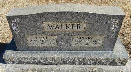 WALKER, QUIMBY L - Prowers County, Colorado | QUIMBY L WALKER - Colorado Gravestone Photos