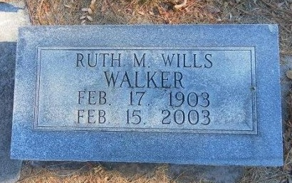 WALKER, RUTH M - Prowers County, Colorado | RUTH M WALKER - Colorado Gravestone Photos