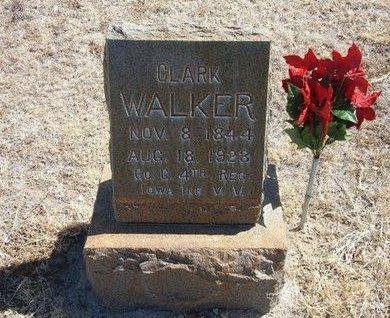 WALKER (VETERAN UNION), CLARK - Prowers County, Colorado | CLARK WALKER (VETERAN UNION) - Colorado Gravestone Photos