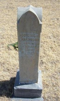 WASHBURN, ADDILINE - Prowers County, Colorado | ADDILINE WASHBURN - Colorado Gravestone Photos