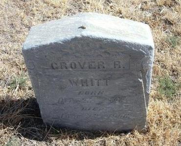 WHITT, GROVER R - Prowers County, Colorado | GROVER R WHITT - Colorado Gravestone Photos