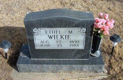 WILKIE, ETHEL M - Prowers County, Colorado | ETHEL M WILKIE - Colorado Gravestone Photos