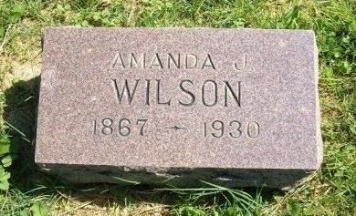 WILSON, AMANDA J - Prowers County, Colorado | AMANDA J WILSON - Colorado Gravestone Photos