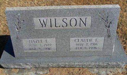 WILSON, HAZEL L - Prowers County, Colorado   HAZEL L WILSON - Colorado Gravestone Photos