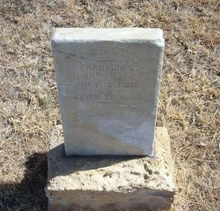 WILSON, FRANKLIN C - Prowers County, Colorado | FRANKLIN C WILSON - Colorado Gravestone Photos