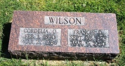 WILSON, CORDELIA O - Prowers County, Colorado   CORDELIA O WILSON - Colorado Gravestone Photos