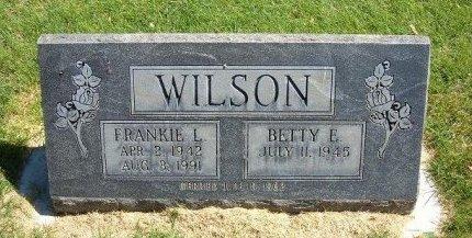 WILSON, FRANKIE L - Prowers County, Colorado | FRANKIE L WILSON - Colorado Gravestone Photos