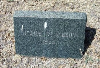 WILSON, JEANIE M - Prowers County, Colorado | JEANIE M WILSON - Colorado Gravestone Photos