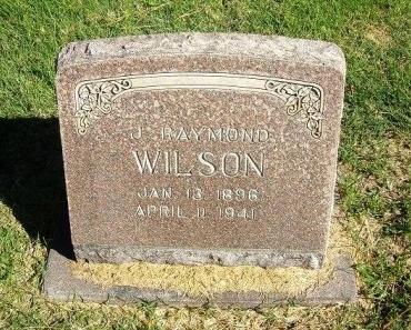 WILSON, J RAYMOND - Prowers County, Colorado | J RAYMOND WILSON - Colorado Gravestone Photos