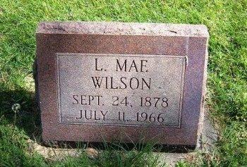WILSON, L MAE - Prowers County, Colorado   L MAE WILSON - Colorado Gravestone Photos