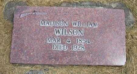 WILSON, MADISON WILLIAM - Prowers County, Colorado | MADISON WILLIAM WILSON - Colorado Gravestone Photos