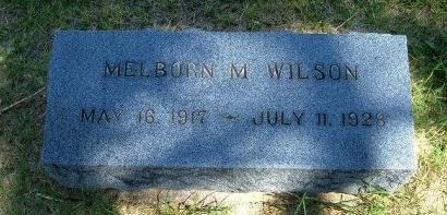 WILSON, MELBORN M - Prowers County, Colorado | MELBORN M WILSON - Colorado Gravestone Photos