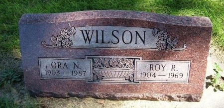 WILSON, ORA N - Prowers County, Colorado | ORA N WILSON - Colorado Gravestone Photos