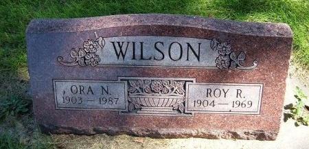 WILSON, ROY R - Prowers County, Colorado | ROY R WILSON - Colorado Gravestone Photos