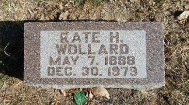 WOLLARD, KATE H - Prowers County, Colorado | KATE H WOLLARD - Colorado Gravestone Photos