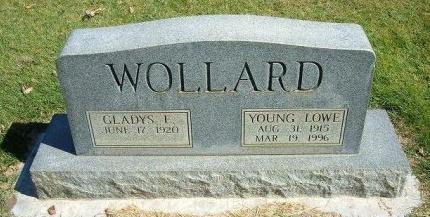 WOLLARD, YOUNG LOWE - Prowers County, Colorado | YOUNG LOWE WOLLARD - Colorado Gravestone Photos