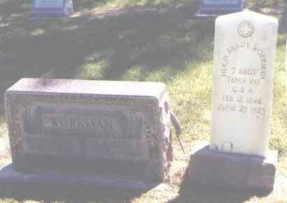 WORKMAN, ELIZABETH - Prowers County, Colorado | ELIZABETH WORKMAN - Colorado Gravestone Photos