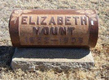 YOUNT, ELIZABETH - Prowers County, Colorado   ELIZABETH YOUNT - Colorado Gravestone Photos