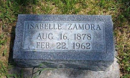 ZAMORA, ISABELLE - Prowers County, Colorado | ISABELLE ZAMORA - Colorado Gravestone Photos