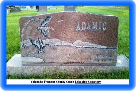 ADAMIC, DENNIS MICHAEL - Pueblo County, Colorado | DENNIS MICHAEL ADAMIC - Colorado Gravestone Photos