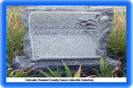 ADAMIC, FRANCIS - Pueblo County, Colorado | FRANCIS ADAMIC - Colorado Gravestone Photos