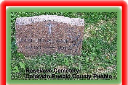 ADAMICH, JOSEPH - Pueblo County, Colorado | JOSEPH ADAMICH - Colorado Gravestone Photos