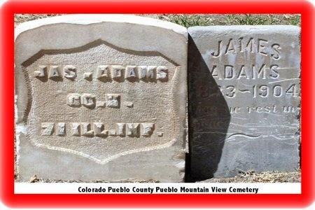 ADAMS, JAMES M - Pueblo County, Colorado | JAMES M ADAMS - Colorado Gravestone Photos