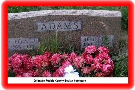 ADAMS, ROBERT H - Pueblo County, Colorado | ROBERT H ADAMS - Colorado Gravestone Photos
