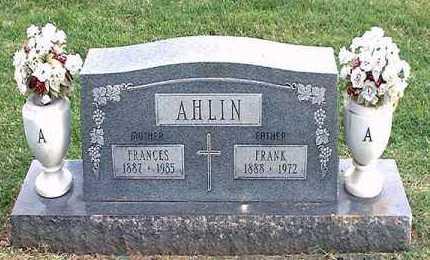AHLIN, FRANK - Pueblo County, Colorado | FRANK AHLIN - Colorado Gravestone Photos