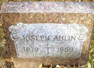 AHLIN, JOSEPH - Pueblo County, Colorado | JOSEPH AHLIN - Colorado Gravestone Photos