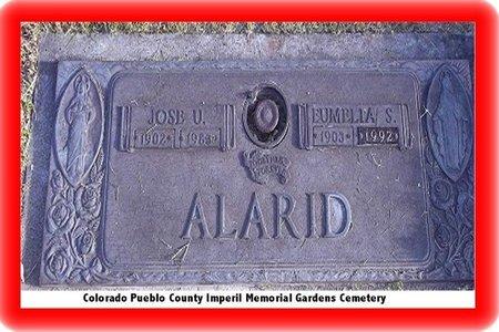 ALARID, JOSE U - Pueblo County, Colorado   JOSE U ALARID - Colorado Gravestone Photos