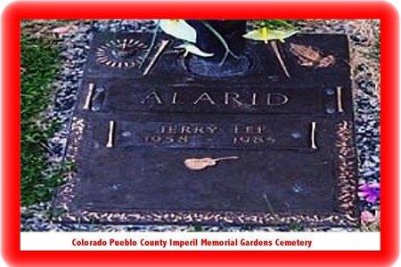 ALARID, JERRY LEE - Pueblo County, Colorado   JERRY LEE ALARID - Colorado Gravestone Photos