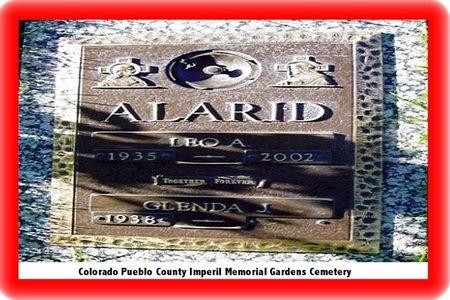 SILVA ALARID, LEO ANTHONY - Pueblo County, Colorado | LEO ANTHONY SILVA ALARID - Colorado Gravestone Photos